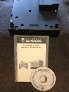 GameCube GBA player and disc