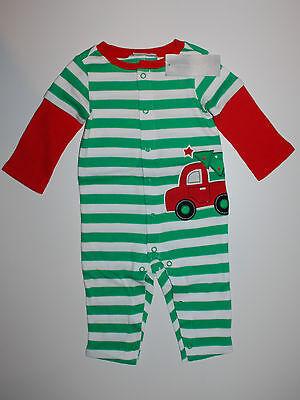 Weihnachten~USA~68-74~Schlafanzug~Strampler~Junge~Pyjama~100% Baumwolleneu