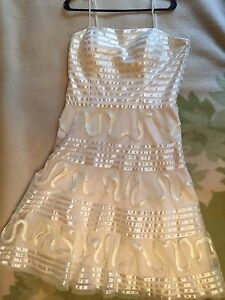 White/Cream Dress - never been worn
