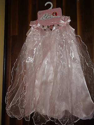 Great Pretenders Princess Dress Girl Halloween Costume Child SZ Medium 5-6 Pink](Great Kids Halloween Costumes)