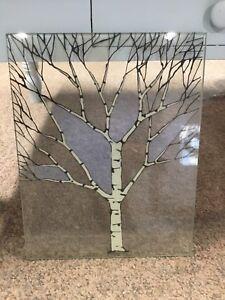 Laminated glass art