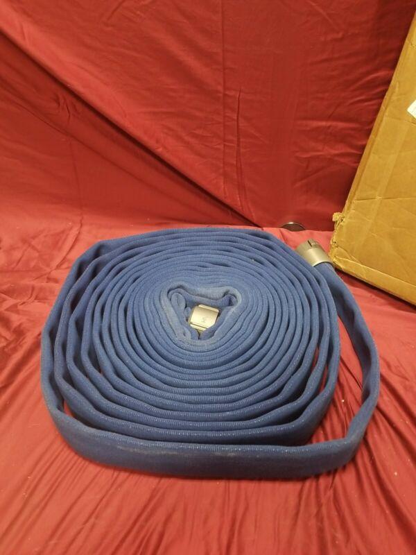 JAFLINE HD 50ft Double Jacket Blue Attack Line Fire Hose G52H15HDB50N  11n849