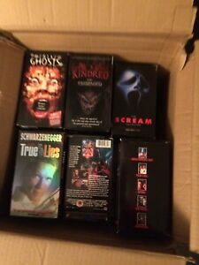 Collection vhs: 60 movies