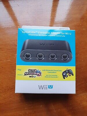 Official Nintendo Wii U / Switch GameCube Controller Adapter Boxed