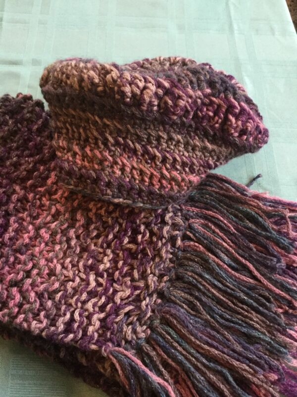 Handmade Scarf and Hat