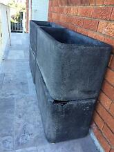 4 x Fibre Clay Planter Boxes - Great for growing herbs Darling Point Eastern Suburbs Preview