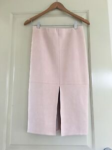 Beige fitted skirt size 10 Everton Park Brisbane North West Preview