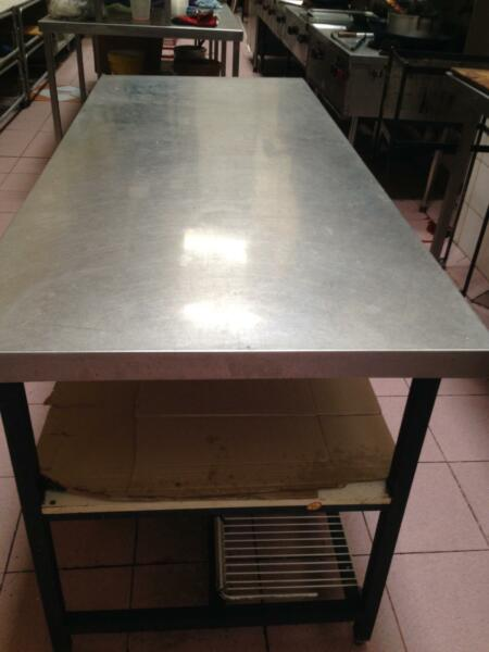 Stainsteel Steel Table Dining Tables Gumtree Australia Penrith - Stain steel table