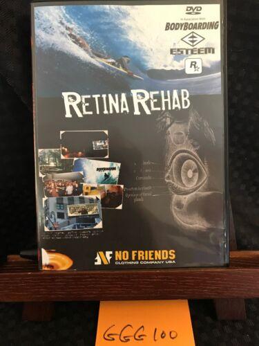 Retina Rehab DVD Body Board Bodyboarding Surf Surfing No Fri
