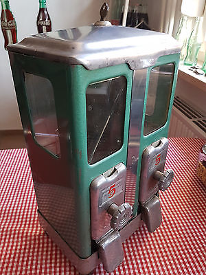 Kaugummi Automat Gumball Machine U.S.A. 40er/50er Jahre LAWRENCE MFG.Co. Chicago