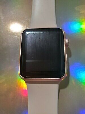Apple iWatch Series1/ 38mm Pink with 3 extra bands. USED  [great condition]