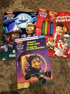 Children Assorted Book lot paw patrol chuggington Jake elmo