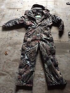 Youth Insulated Hunting Coveralls