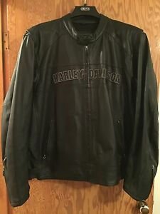 Harley Davidson Leather Jacket 2xl