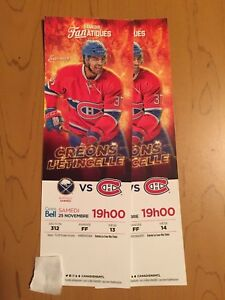 Buffalo Sabres vs Montreal Canadiens tickets