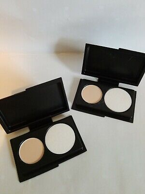 2x MAC Studio Fix Powder Plus Foundation in NC20 Deluxe Sample for sale  Shipping to India