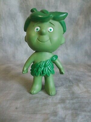 """Vintage Jolly Green Giant Little Sprout Rubber Figure 6.5"""" Height《"""