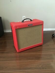 Fender Blues Junior Limited Edition Texas Red