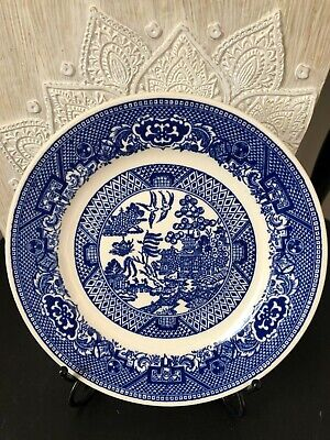 Royal China Blue Willow Bread Dessert Plate Willow Ware 6 5/16