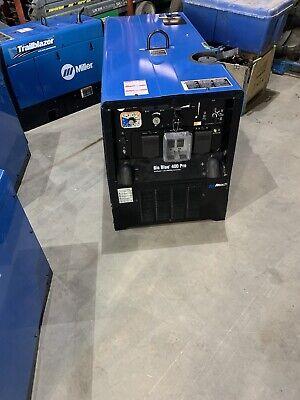 2018 Miller Big Blue 400 Pro Portable Welder Kubota Diesel 907732 New