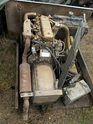Perkins Generator Motor Engine Only Generator Not Included