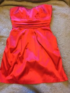 Red dress with pockets - Size L