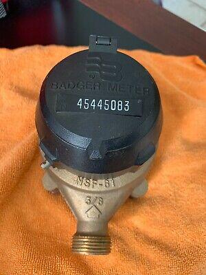 Badger Meter 58 Model 25 Recordall Nsf-61