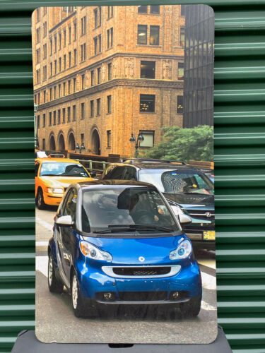 """Giant! SMART Car Dealership Advertisement Promotional Sign NYC 48"""" x 26"""" Matted"""