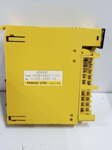 FANUC A03B-0807-C151 AOD08C 8pt 24v-dc Neg Output Module
