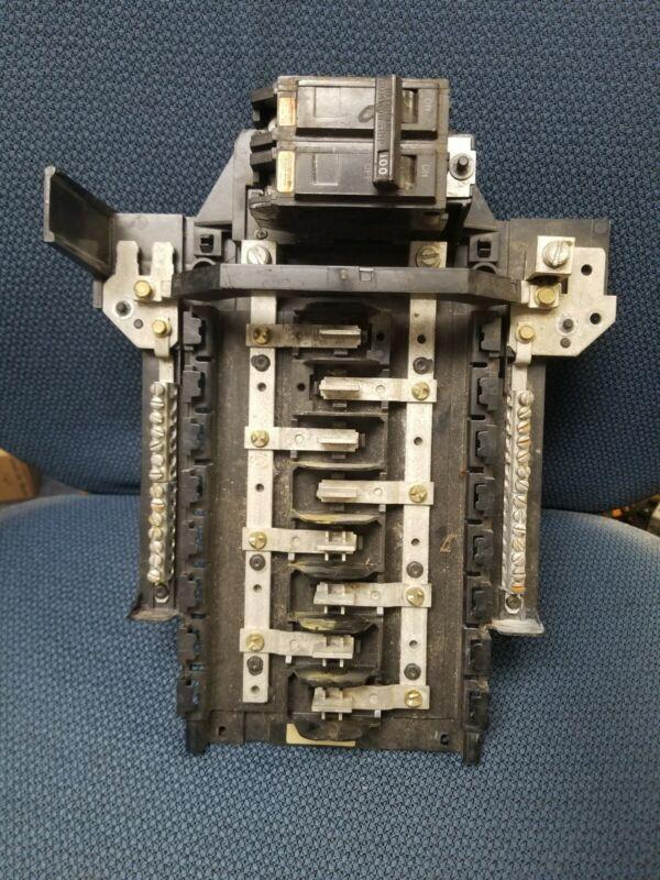GE TLM1612 100A MAIN busbar bus bar Interior load center breaker panel