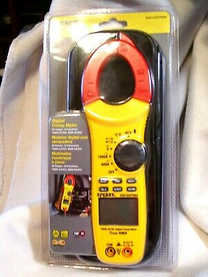 Nip Sperry Instruments Digital Clamp Meter Snap Around Dsa1020trms With Bag