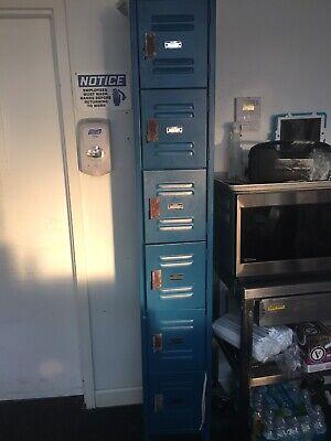 6 Tier Locker Blue 12 X12 X 12