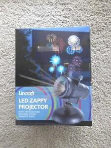 LINCRAFT LED ZAPPY PROJECTOR (CHRISTMAS) NEW