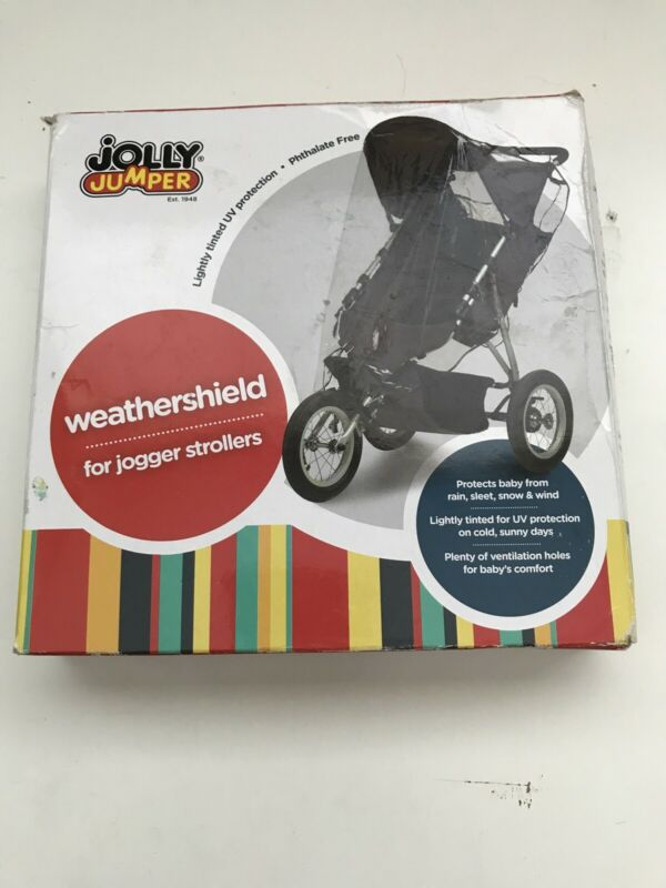 Jolly Jumper Single Jogging Stroller Weathershield Cover