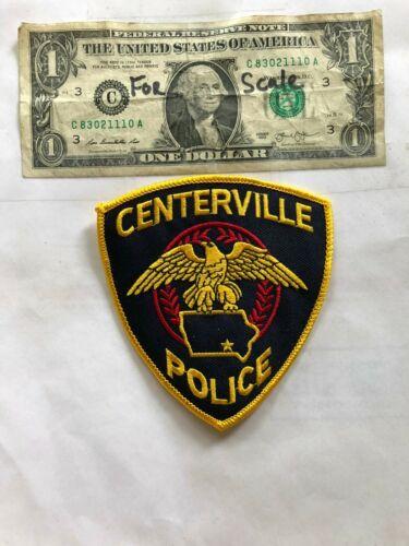 Red Oak Iowa Police Patch Un-sewn great shape