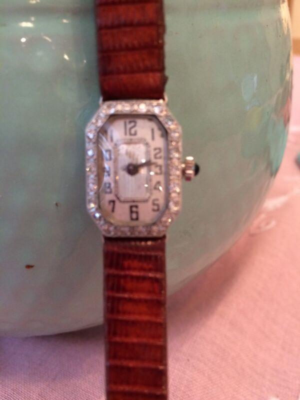 Art Deco Ladies Diamond Watch