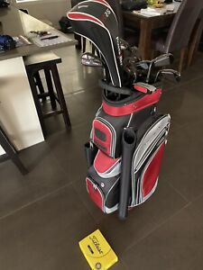 Men's complete golf club and ball set