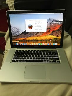 MacBook Pro 15-inch Mid 2010, i7 2.66GHz, 4GB Ram GT330M