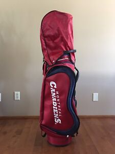 NHL Montreal Canadiens Medalist Golf Cart Bag