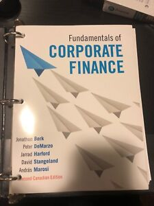 Corporate finance textbook kijiji in ontario buy sell save fundamentals of corporate finance fin 401 fandeluxe Images