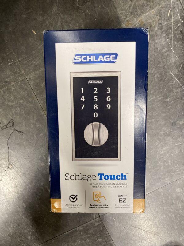 Schlage Touch Keyless Deadbolt (Satin Nickel)