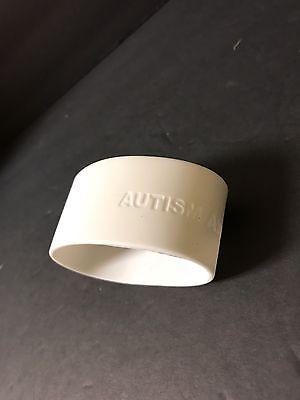 Autism Awareness Puzzle Piece Wide Rubber Silicone (Autism Awareness Rubber Bracelet)