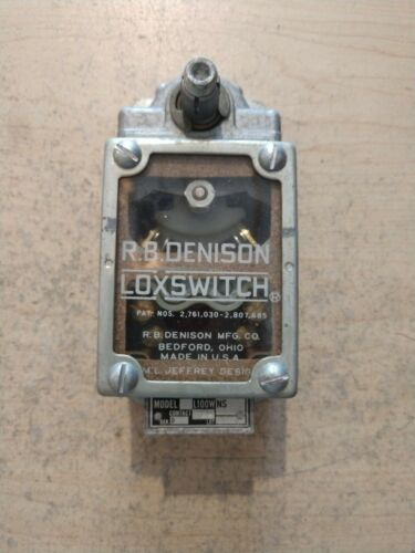 NEW RB DENISON L100WNS-2PF LEVER TYPE LIMIT SWITCH