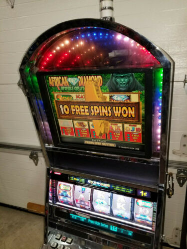 Konami Advantage 5 african diamonds Slot Machine