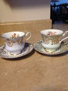 Paragon tea cups