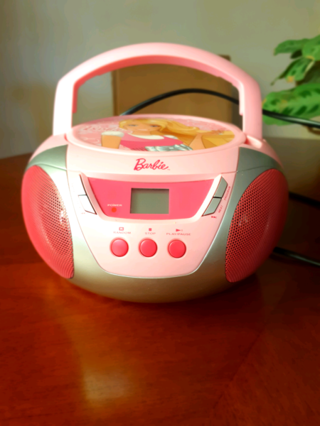 barbie stereo cd player other books music games gumtree