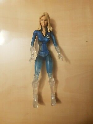 Marvel Legends Fantastic Four 4 Movie Jessica Alba Invisible Woman Action Figure