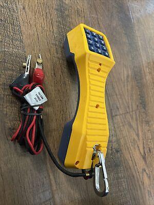 Fluke Networks Ts19 19800-009 Portable Lineman Test Telephone Set Phone Butt