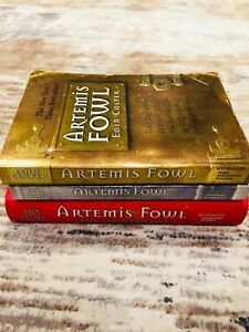 Artemis Fowl books - by Eoin Colfer ($9 for all 3)