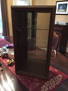 Real wood Curio Cabinet